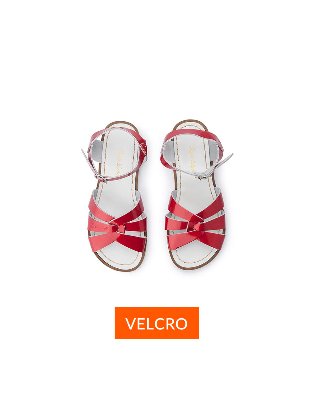 SALT-WATER SANDAL  CHILD VELCRO ORIGINAL  Candy red