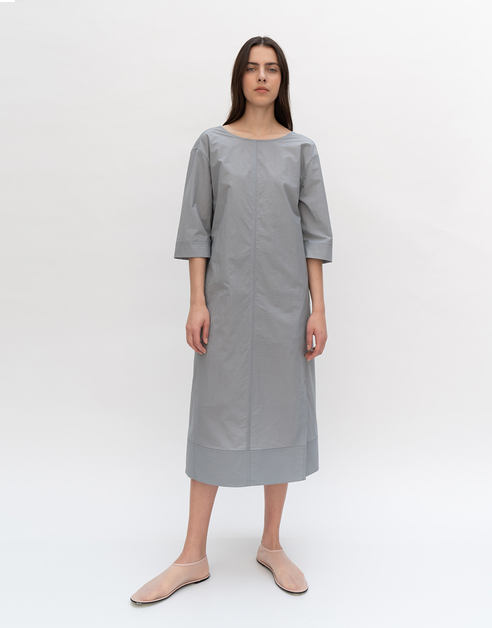 GBH APPAREL ADULT  Summer Backless Dress  GRAY